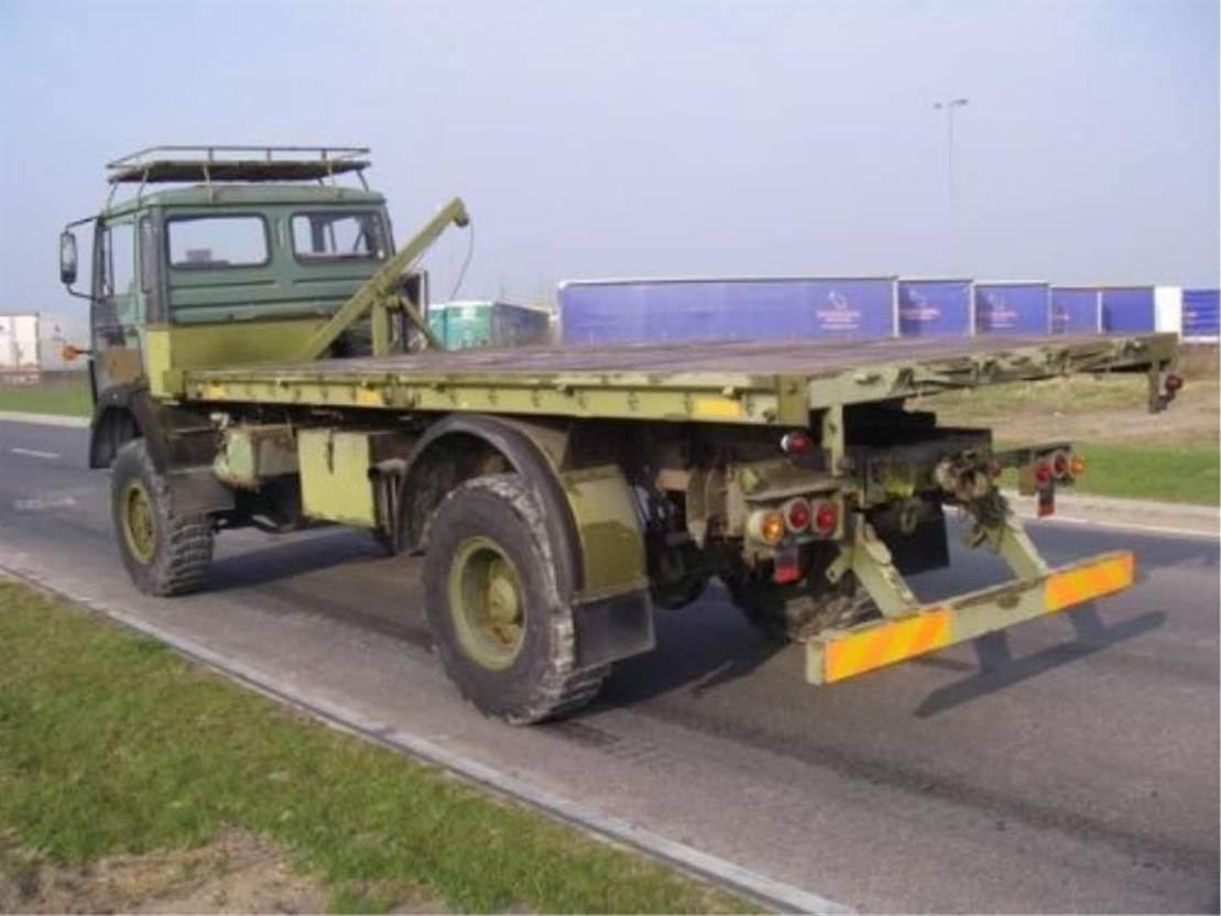 leger vrachtwagen Magirus 110 X 16 4X4 AW EX-ARMY..4086 1985