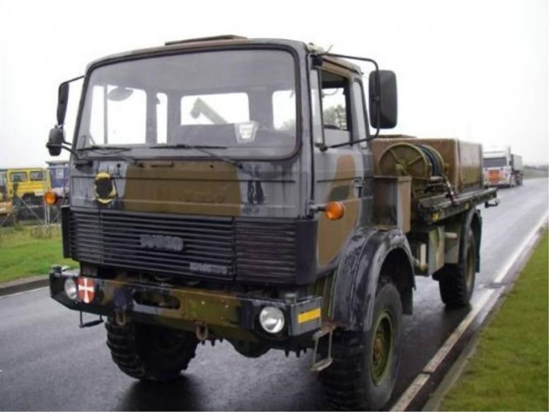leger vrachtwagen Magirus 168 M 11 4X4 168 HK..4092 1984