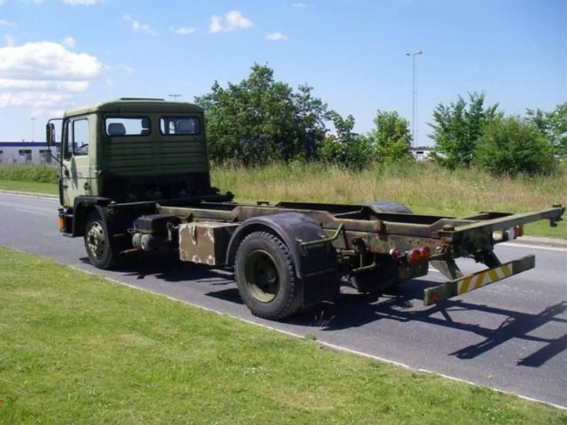 leger vrachtwagen MAN 13-192 F IC 4X2 (EX-ARMY) BDF. 1993