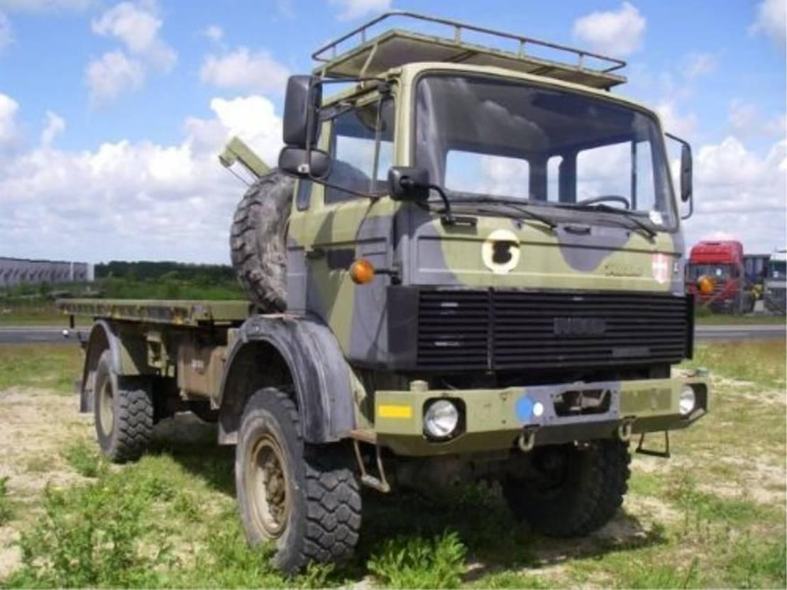leger vrachtwagen Magirus 110 X 16 AW 4X4 EX-ARMY..4106 1988